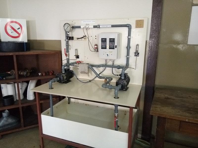 Circuito Seri E Paralelo : Laboratorio de hidraulica uns circuito serie paralelo